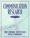 Communication Research, Hocking, John E. and McDermott, Steven T., 0321088077