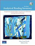 Analytical Reading Inventory with Readers Passages, Woods, Mary Lynn J. and Moe, Alden J., 0131568086