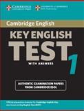 Cambridge Key English Test 1 with Answers, Cambridge Esol, 0521528089