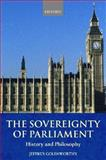 The Sovereignty of Parliament 9780199248087