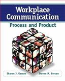 Workplace Communication, Sharon J. Gerson and Steven M. Gerson, 0132288087