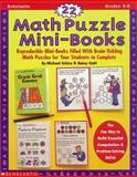 22 Math Puzzle Mini-Books, Michael Schiro and Rainy Cotti, 0590918095