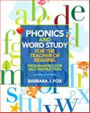 Phonics and Word Study for the Teacher of Reading 11th Edition