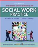 Techniques and Guidelines for Social Work Practice, Sheafor, Bradford W. and Horejsi, Charles R., 0205578098