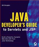 Java Developer's Guide to Servlets and JSP, Brogden, William B., 0782128092