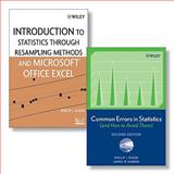 Common Errors in Statistics (and How to Avoid Them), 2nd Edition + Introduction to Statistics Through Resampling Methods and Microsoft Office Excel, Good, Phillip I. and Hardin, James W., 0470388102