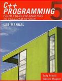 Lab Manual for Malik's C++ Programming : From Problem Analysis to Program Design, Malik, D. S., 0538798106