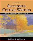 instructor's Annotated Edition for Successful College Writing, McWhorter, Kathleen T., 0312398115