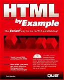 HTML by Example, Que Development Group Staff, 0789708124