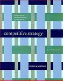 Formulation, Implementation and Control of Competitive Strategy, Pearce, John and Robinson, Richard, 0073368121