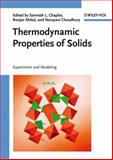 Thermodynamic Properties of Solids : Experiment and Modeling, , 3527408126