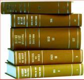 Recueil des Cours 1933, Hague Academy of International Law Staff and Académie de Droit International de la Ha Staff, 9028608125