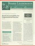Board Leadership Newsletter, Number 97, May/June 2008, Bl, 047040812X