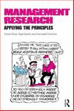 Management Research : Applying the Principles, Rose, Susan and Spinks, Nigel, 0415628121