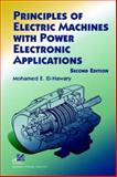 Principles of Electric Machines with Power Electronic Applications 9780471208129
