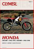 Honda Cr125, 1992-1997, Cr250r, 1992-1996, Clymer Publications Staff and Penton Staff, 0892878134