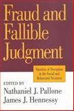 Fraud and Fallible Judgment : Deception in the Social and Behavioral Sciences, , 156000813X