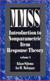 Introduction to Nonparametric Item Response Theory, Sijtsma, Klaas and Molenaar, Ivo W., 0761908137