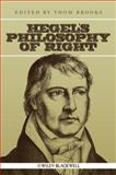 Hegel's Philosophy of Right, , 1405188138