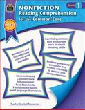 Nonfiction Reading Comprehension for the Common Core Grd 1, Heather Wolpert-Gawron, 1420638149