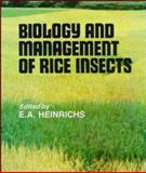 Biology and Management of Rice Insects 9780470218143