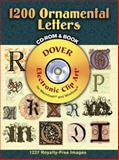 1200 Ornamental Letters, Dover, 0486998142