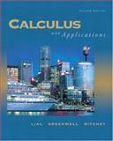 Caclulus with Applications, Lial, Margaret L. and Greenwell, Raymond N., 0321228146