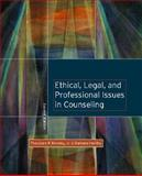 Ethical, Legal, and Professional Issues in Counseling, Remley, Theodore Phant and Herlihy, Barbara, 0131128140