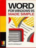 Word for Windows 95 Made Simple, Brindley, 0750628154