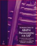 Introduction to ABAP/4 Programming SAP, Robert Lyfareff, 0761508155