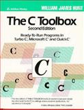 The C Toolbox : Ready-to-Run Programs in Turbo C, Microsoft C, and Quick C, Hunt, William J., 0201518155