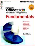 Microsoft Office 2000 VBA Programming : Mastering Solution Set, Boctor, David, 0735608156