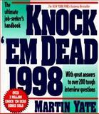 Knock 'em Dead, 1998, Martin J. Yate, 1558508155