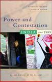 Power and Contestation : India since 1989, Menon, Nivedita and Nigam, Aditya, 1842778153