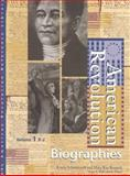 American Revolution Reference Library 9780787638160