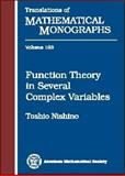 Function Theory in Several Complex Variables, Nishino, Toshio, 0821808168