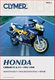 Honda Cbr600 F2 and F3, 1991-1998, Clymer Publications Staff and Penton Staff, 0892878169