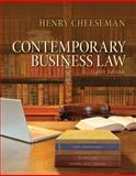 Contemporary Business Law, Cheeseman, Henry R., 013357816X