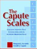 Capute Scales, Pasquale J. Accardo and Arnold J. Capute, 1557668167