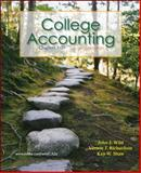 College Accounting Ch. 1-29 with Annual Report + Connect Plus, Wild, John and Richardson, Vernon, 0077398173