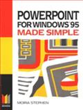 Powerpoint for Windows 95 Made Simple, Stephen, 0750628170