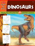 Draw and Color Dinosaurs, Jeff Shelly, 1560108177