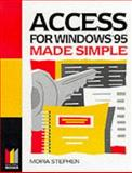 Access for Windows 95 Made Simple, Stephen, 0750628189