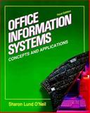 Information Systems, O'Neil, Sharon L., 007047818X