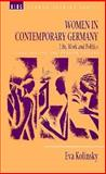 Women in Contemporary Germany 9780854968183