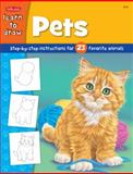 Draw and Color - Pets, Peter R. Mueller and Creative Team at Walter Foster Publishing Staff, 1560108185