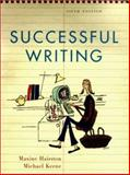Successful Writing, Hairston, Maxine and Keene, Michael, 0393978184