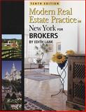 New York Modern Real Estate Practice for Brokers, Edith Lank and Sam Irlander, 1427768188