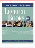 Leveled Books K-8, Irene C. Fountas and Gay Su Pinnell, 0325008183
