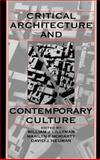 Critical Architecture and Contemporary Culture, , 0195078195